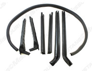 1971-1973 Ford Mustang convertible top seal kit, 7 piece kit.