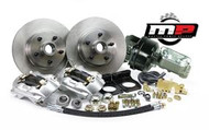 1964-1966 Ford Mustang Front Disc Brake Kit V-8 w/Power Booster & Master Cylinder