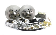 1964-1969 Ford Mustang Front Disc Brake Kit V-8 w Master Cylinder 4 Piston Caliper