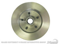 1970-1973 Ford Mustang disc brake rotor, each.  Single piece design.