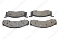 1968-1973 Ford Mustang front disc brake pads, set.