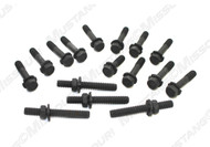 1969-1970 Ford Mustang exhaust manifold bolts for Boss 302.  Features Ramp-Lok with stud.
