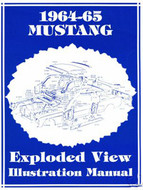 1964-65 Exploded View Illustration Manual