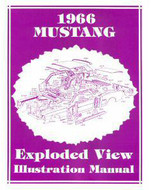 1966 Exploded View Illustration Manual