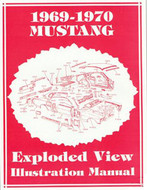 1969-70 Exploded View Illustration Manual