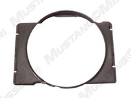 1968-1970 Ford Mustang 24 inch fan shroud. Fits 390, 427 and 428 c.i.  Exact reproduction, injection molded plastic.