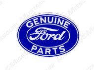 Ford Genuine Parts Oval 3 Inch