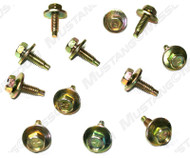 1971-73 Fender Bolts Dichromate