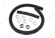 """1967-1973 Ford Mustang fuel hose kit, 3/8"""" ID."""