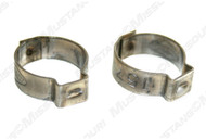1964-67 Fuel Line Hose Clamps 5/16 in