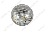 1969 Headlight Bulb Low Beam Plain