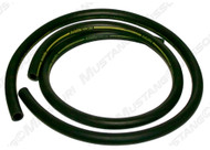1970 Ford Mustang heater hose for models without factory air conditioning. Concours correct.  This hose is for models made after 2-1-70.