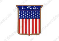 1972 U.S.A. Body Shield Decal