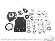 1964-1973 Ford Mustang manual transmission master rebuild kit, 8 cylinder, 4 speed toploader, (except 427, 428 and 429 c.i.).
