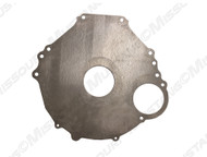1965-1968 Ford Mustang transmission to block spacer plate. Fits 6 bolt blocks, 157 teeth.
