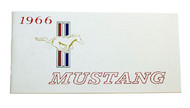 1966 Ford Mustang Owners Manual