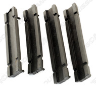 1971-1973 Ford Mustang radiator mounting insulators, set of four.  Exact reproduction made using original blueprints by Daniel Carpenter Mustang Reproductions.
