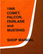 1966 Ford Mustang Shop Manual