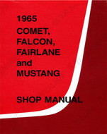 1965 Ford Mustang Shop Manual