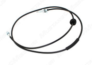 1967-1968 Ford Mustang speedometer cable for automatic or 3 speed manual transmissions.  Exactly like the originals, grommet included.