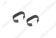 1964-1973 Ford Mustang transmission line retainer clips, set of two.