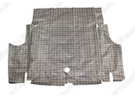 1964-1968 Ford Mustang plaid trunk mat.