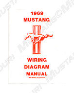1964-1973 Ford Mustang Wiring Diagram Manual