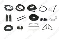 1967-1968 Ford Mustang Coupe deluxe weatherstrip kit.