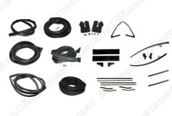 1965-1966 Ford Mustang Fastback deluxe weatherstrip kit.