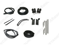 1964-1966 Ford Mustang Convertible weatherstrip kit, basic.