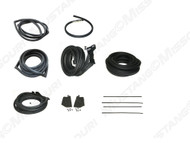 1967-1968 Ford Mustang Fastback basic weatherstrip kit.