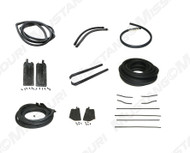 1967-1968 Ford Mustang Convertible weatherstrip kit, basic.