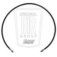 1969-1970 Ford Mustang Liquid line sight glass hose.