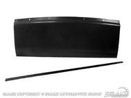 1967-68 Fastback Trap Door