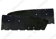 1964-1966 Ford Mustang Fastback water shields, 2 piece set by Repops™.