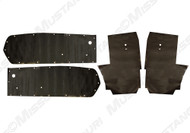1967-1968 Ford Mustang Convertible, water shields, 4 piece set.