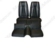 1971-1973 Ford Mustang Mach I upholstery, Covers two front buckets and rear seat. Fits fastback models only.