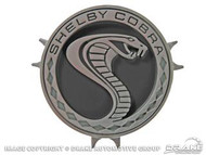 1969-70 Shelby Cobra Steering Wheel Emblem