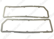 1974-1978 Ford Mustang tail light lens gasket, pair.