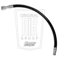 1971-1973 Ford Mustang air conditioning discharge hose, 6 cylinder.