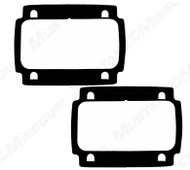 1964-66 Tail Lamp Lens Gaskets