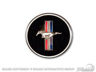 1967-1968 Ford Mustang Deluxe Interior dash panel emblem.
