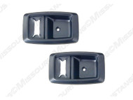 1979-1993 Ford Mustang door handle bezels.