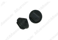 1964-1966 and 1971-1973 Ford Mustang glove box door rubber bumper, 2 piece kit.