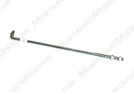 1964-1965 Ford Mustang lower clutch rod.  V8 clutch pedal to equalizer bar rod.