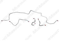 1970 Ford Mustang Front Brake Line Set Power Disc Brakes