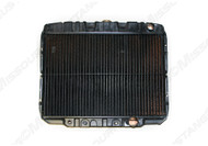 1967-1969 Ford Mustang 8 cylinder, 2 row radiator, 20 inch.  Original Copper/Brass blend.