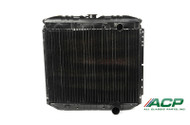 1967-1969 Ford Mustang 8 cylinder, 3 row radiator, 20 inch. Original style brass/copper blend with 95% copper purity.