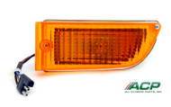 1971-1972 Ford Mustang parking lamp assembly, left side.