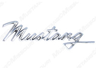 1968 Fender Emblem Mustang Script